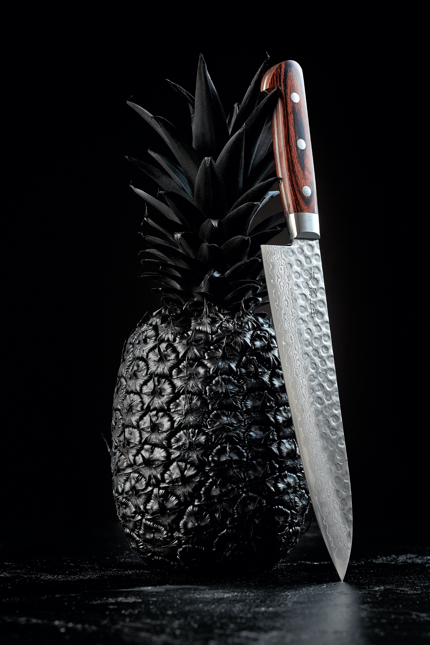 AaronVan_Food_Pineapple_Chef_Knife_ Fine_Art