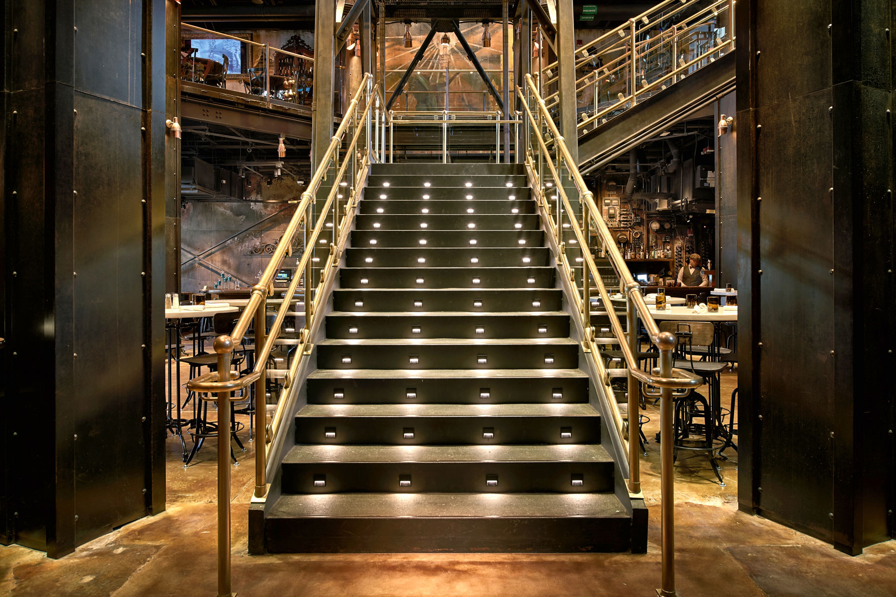 architecture_photography_disney_springs_orlando_edison_stairs