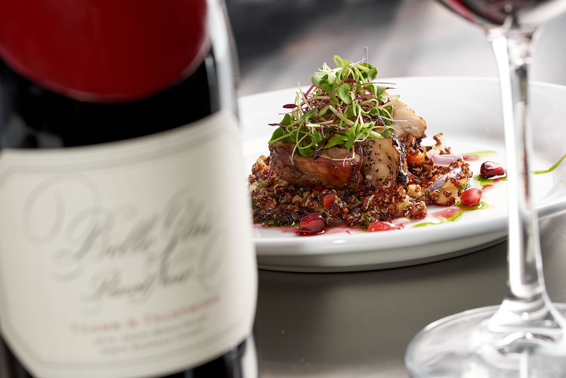 food_photography_ruths_chris_steak_house_chicken_wine_dinner